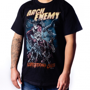 Arch Enemy Bloodstained Cross tee