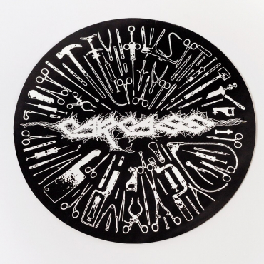 Carcass Surgical Steel Tools sticker black
