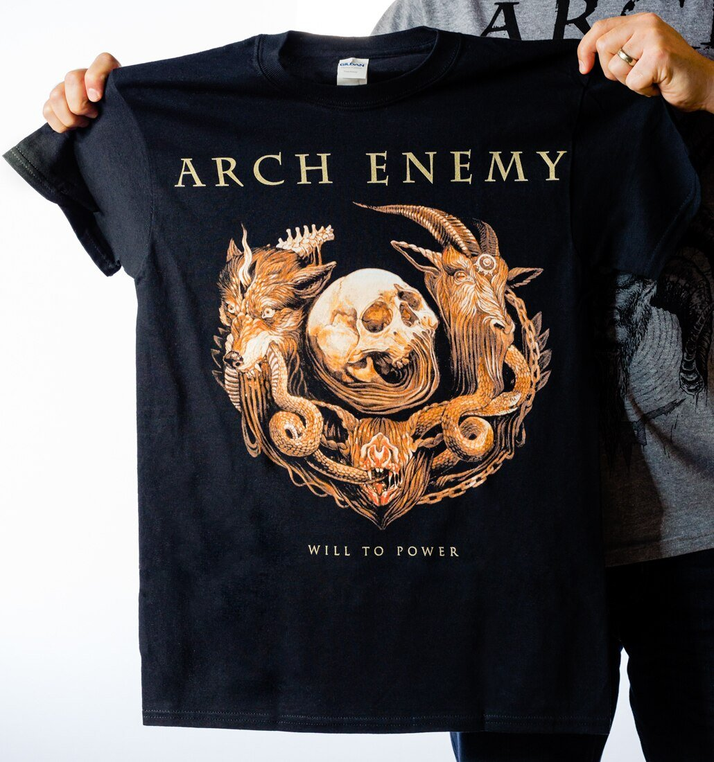 Arch Enemy Will to Power ring shirt