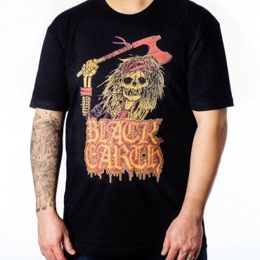Black Earth Flames t-shirt