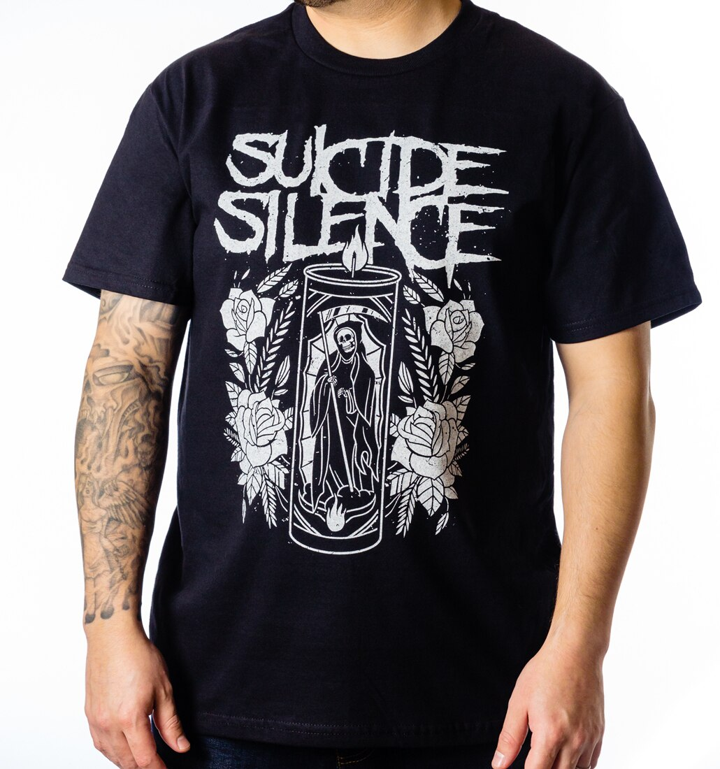 Suicide Silence Candle tee