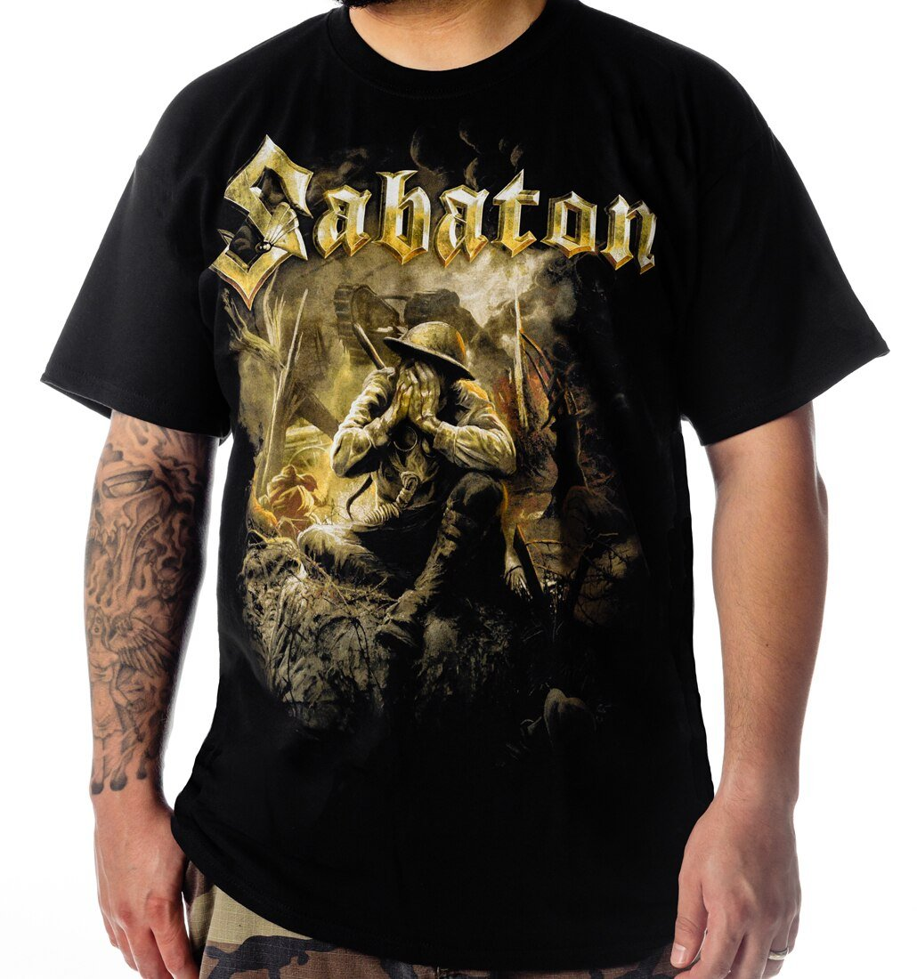 Sabaton The Great War t-shirt