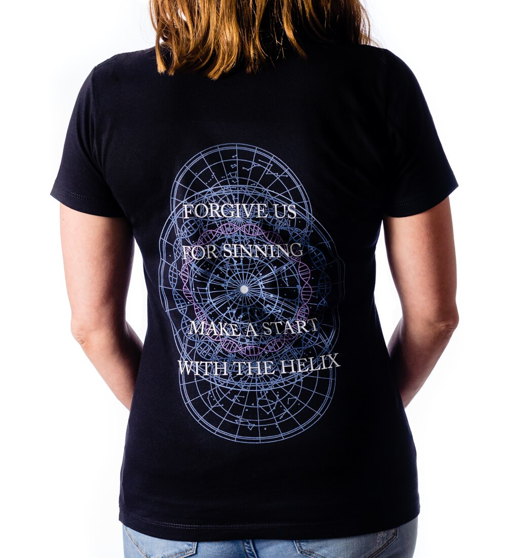 Amaranthe Forgive ladies tee back