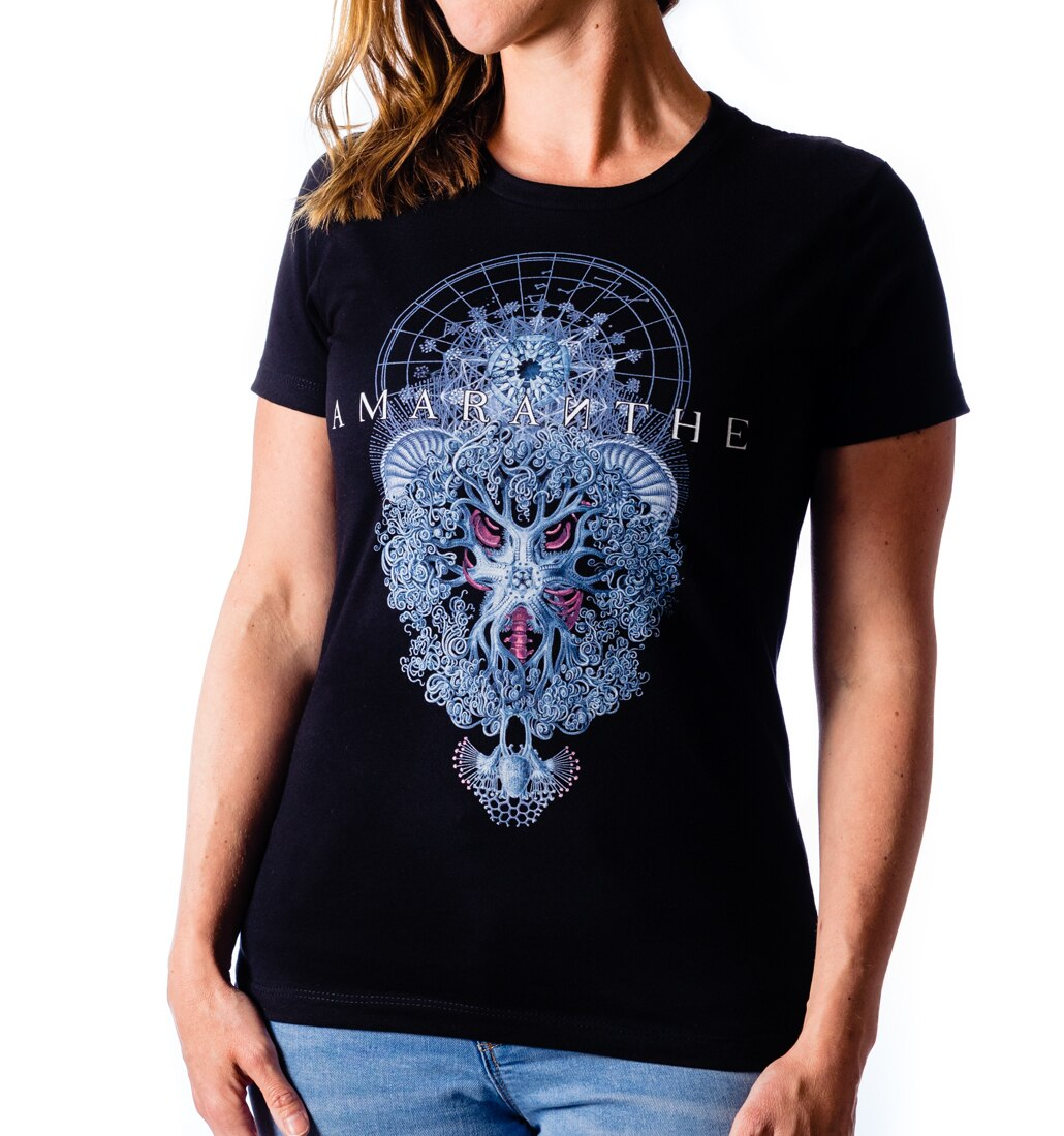 Amaranthe Forgive ladies tee front