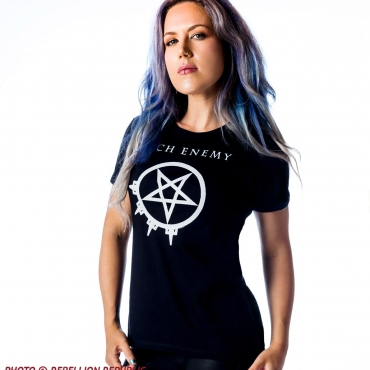 Arch Enemy Pure Fucking Metal ladies tee Alissa