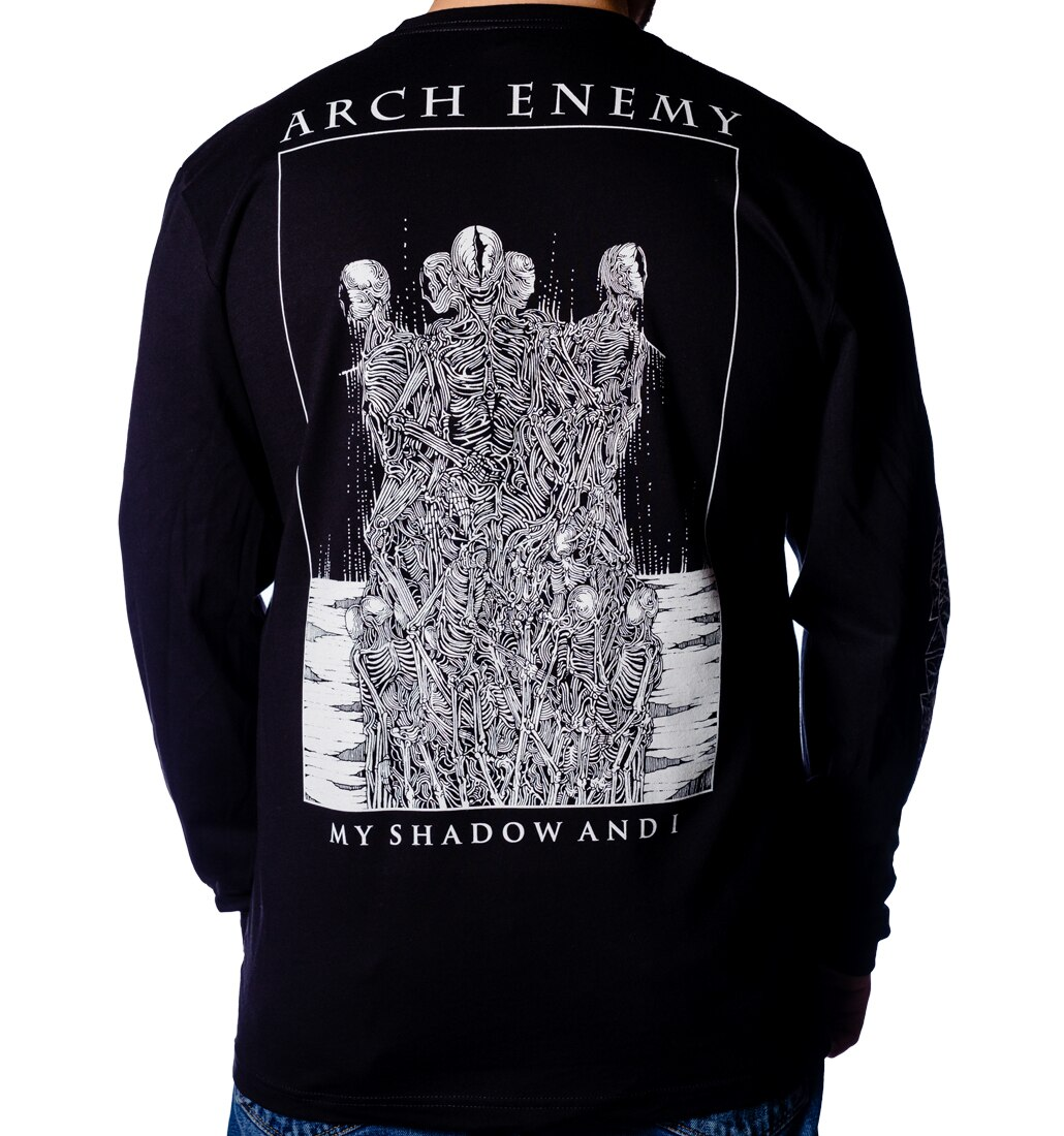Arch Enemy My Shadow and I long sleeve back