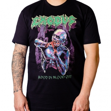 Exodus Blood In Blood Out Blacklight t-shirt