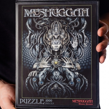 Meshuggah Musical Deviance Puzzle close up