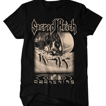 Sacred Reich 2020 Tour tee front