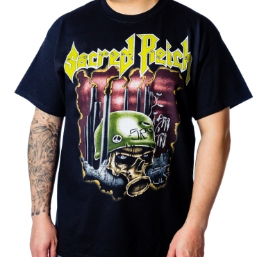 Sacred Reich 2020 tour Crimes Against Humanity tee front