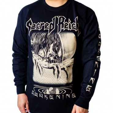 Sacred Reich 2020 Tour long sleeve tee front