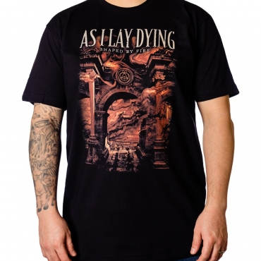 As I Lay Dying Shaped By Fire Nuclear Blast t-shirt