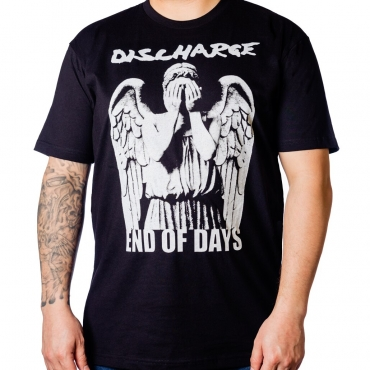 Discharge End of Days t-shirt Nuclear Blast