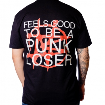 Nailbomb Feels Good to be a Punk Loser t-shirt back