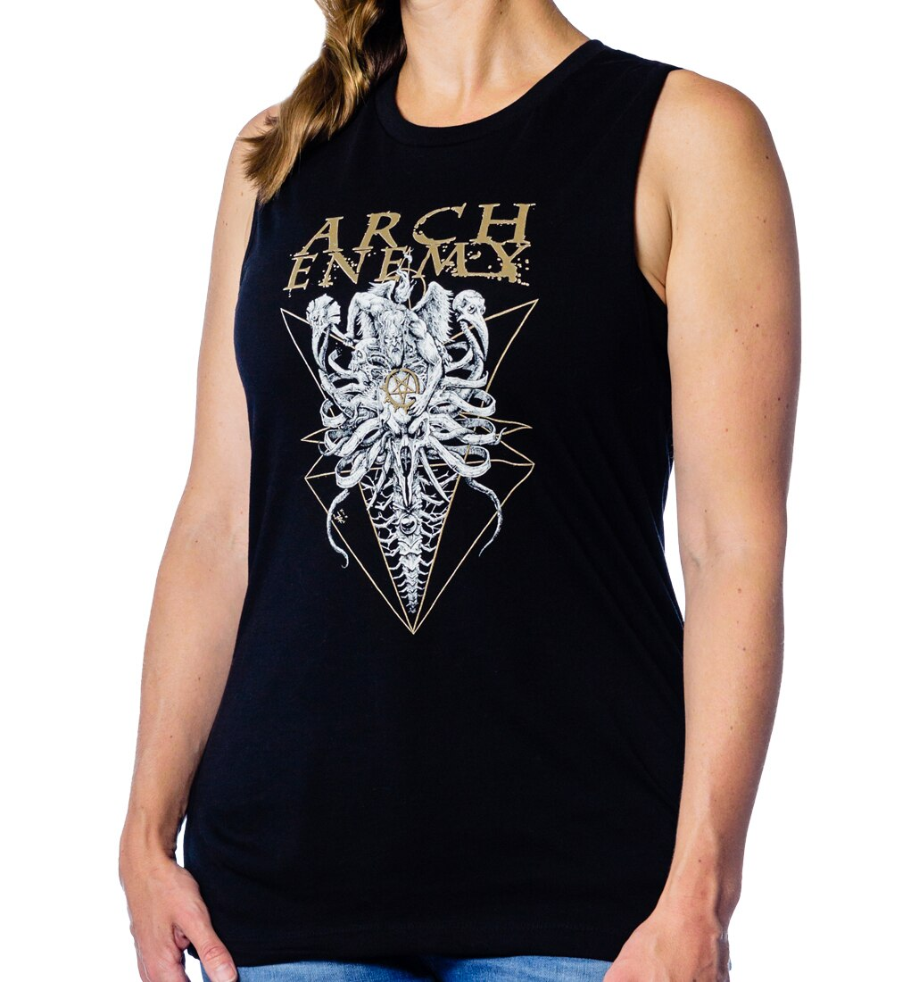 Arch Enemy Fight I Must Win muscle tank ladies with model