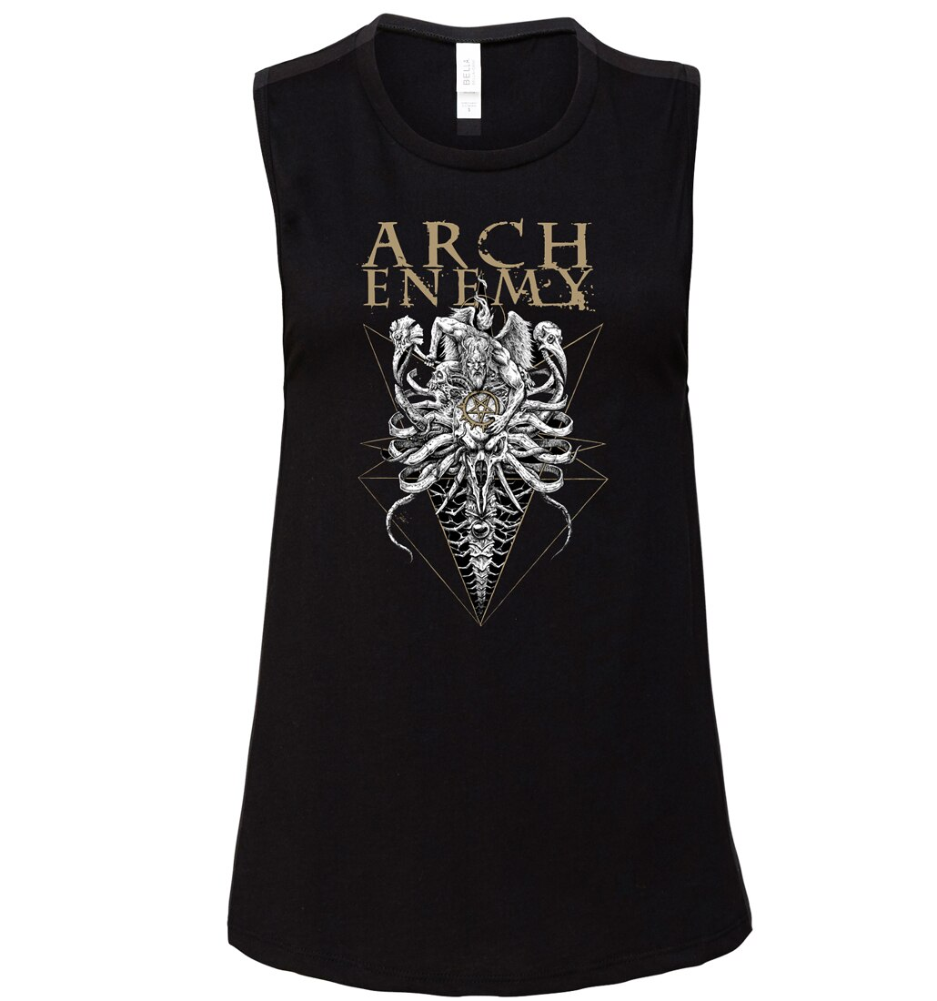 Arch Enemy Fight I Must Win muscle tank ladies