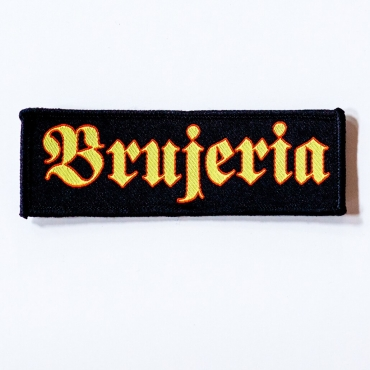 Brujeria logo patch