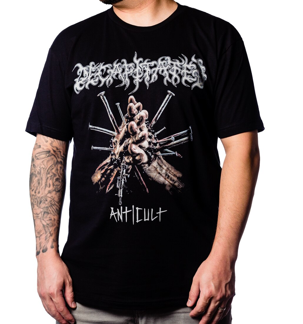 Anticult by Decapitated t-shirt