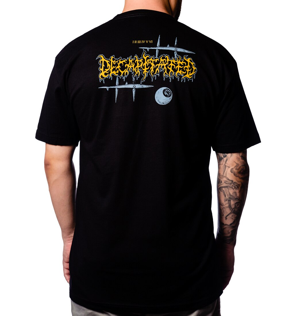 Decapitated Faces of Death t-shirt back