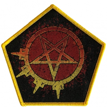 Arch Enemy Pentagram Logo Patch