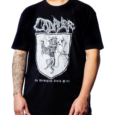 Cadaver Coat of Arms tee Anders
