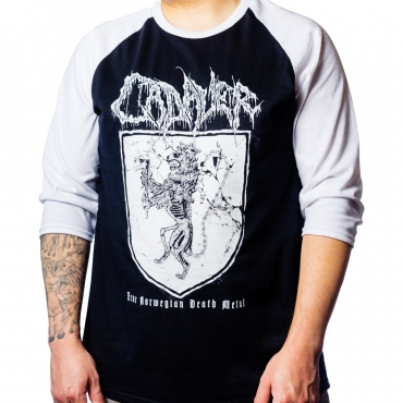 Cadaver Coat of Arms raglan shirt