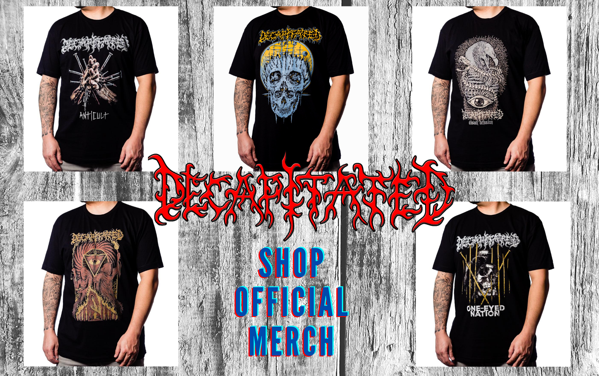 Decapitated Official Merchandise store