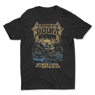 Between the Devil by The Troops of Doom t-shirt
