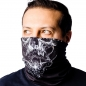 Arch Enemy skulls neck gaiter front 2