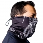 Arch Enemy skulls neck gaiter side 2