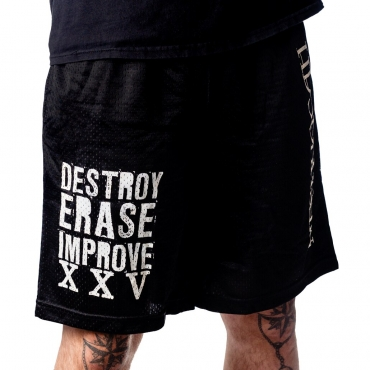 Destroy Erase Improve XXV Gym Shorts for Meshuggah 2