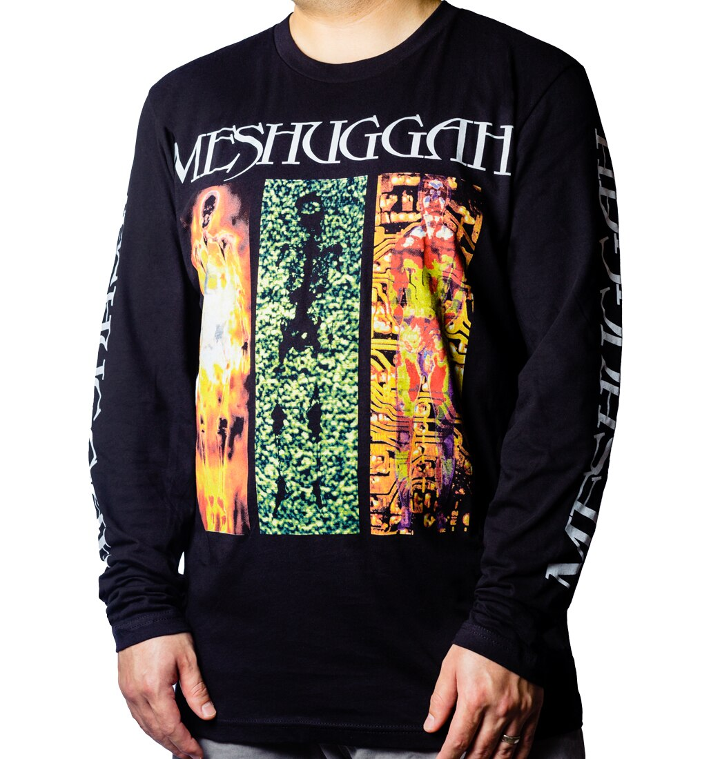 Meshuggah Destroy Erase Improve Long Sleeve front