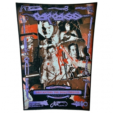 Carcass Backpatch Necroticism Black