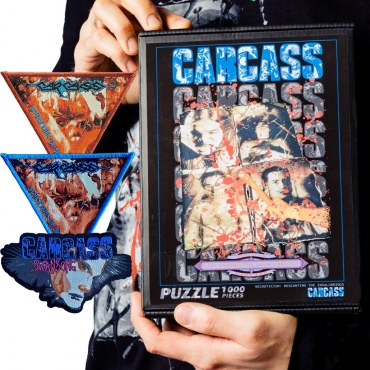 Carcass Swansong Symphonies of Sickness Necroticism puzzle patch bundle
