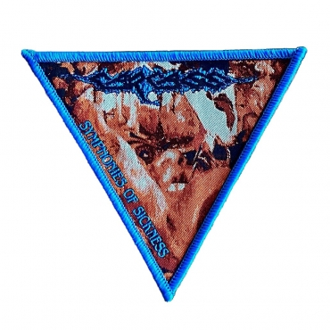 Carcass Symphonies of Sickness patch blue
