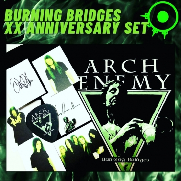 Burning Bridges box set all contents