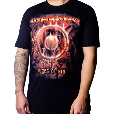 Arch Enemy Wages of Sin t-shirt