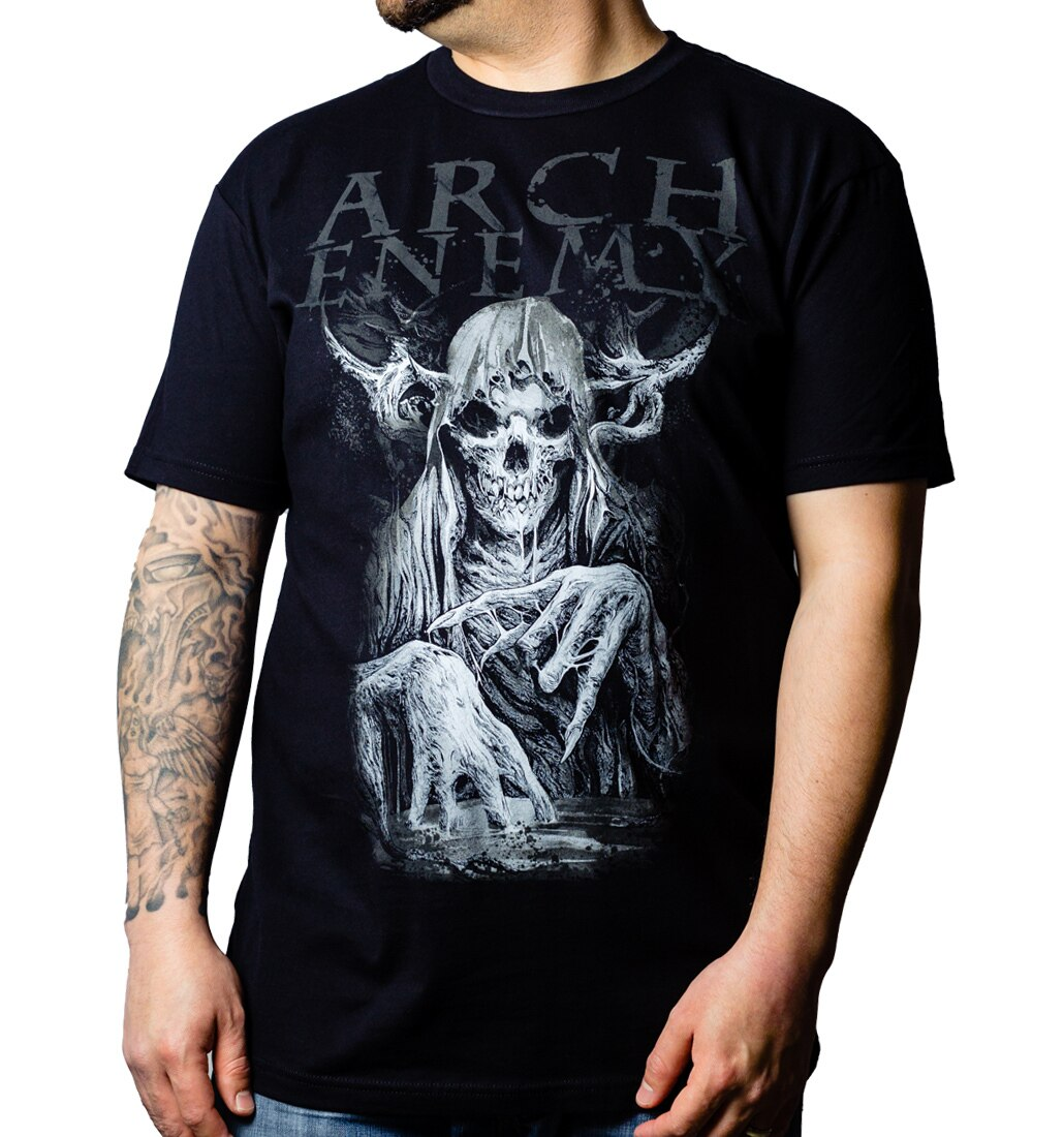 Arch Enemy MMXX t-shirt front model
