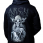 Arch Enemy MMXX zip hoodie back model