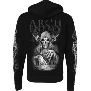 Arch Enemy MMXX zip hoodie back