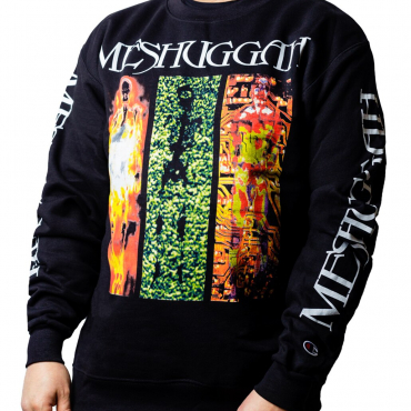 Meshuggah Destroy Erase Improve Crewneck sweatshirt Champion