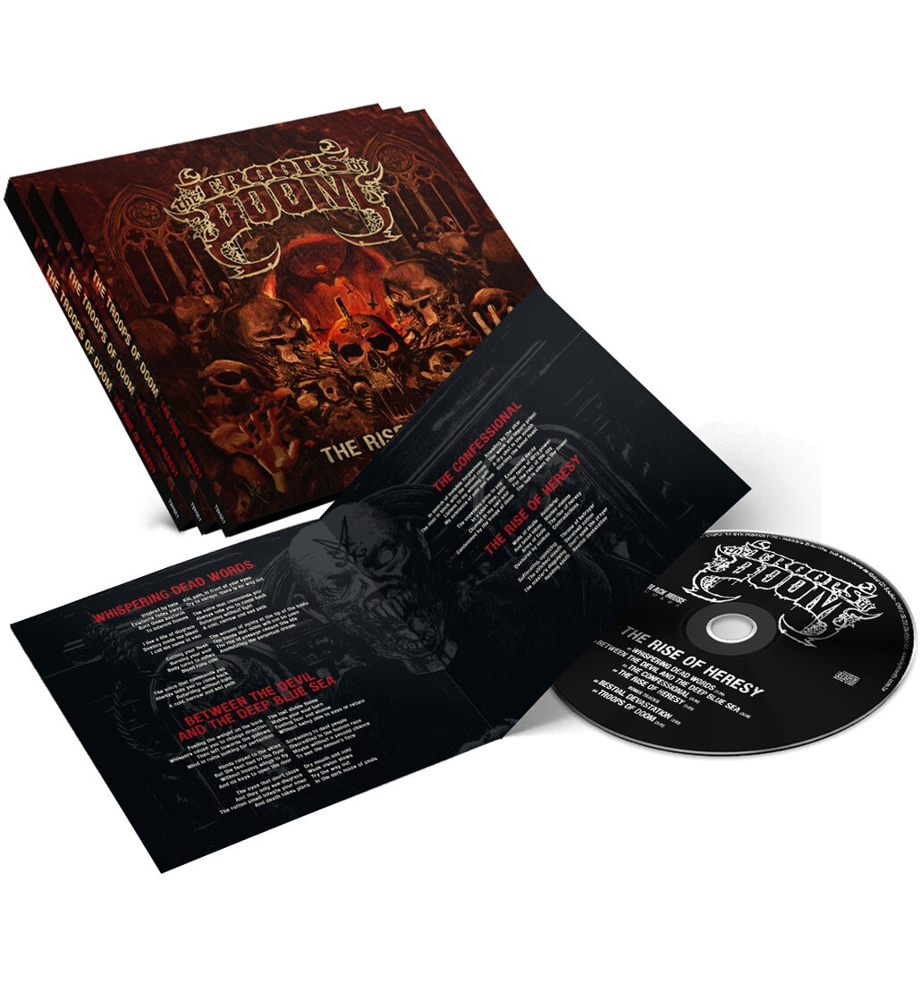 The Troops of Doom The Rise of Heresy cd