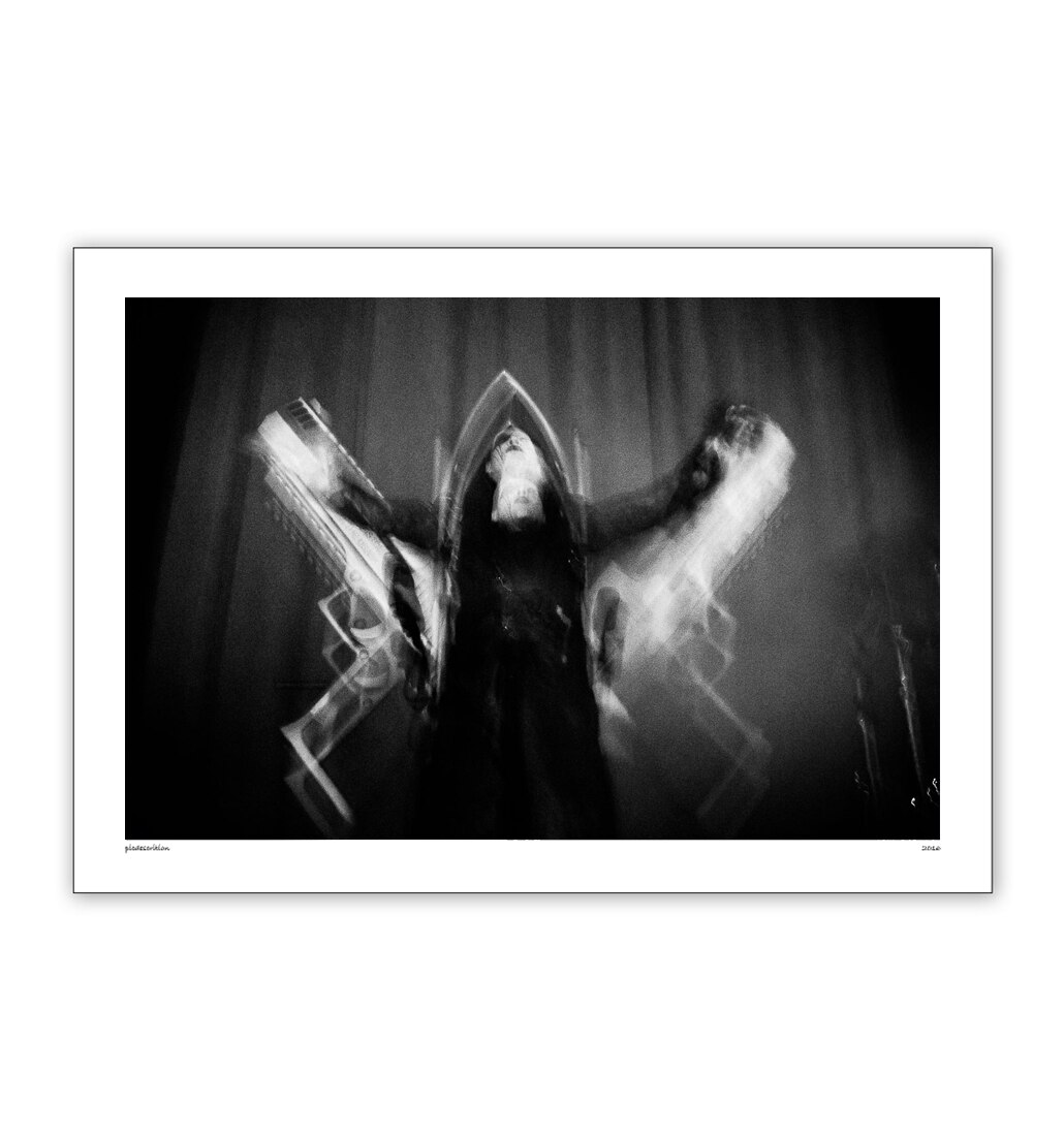 Antichrist Marilyn Manson print by Hannah Verbeuren Photography