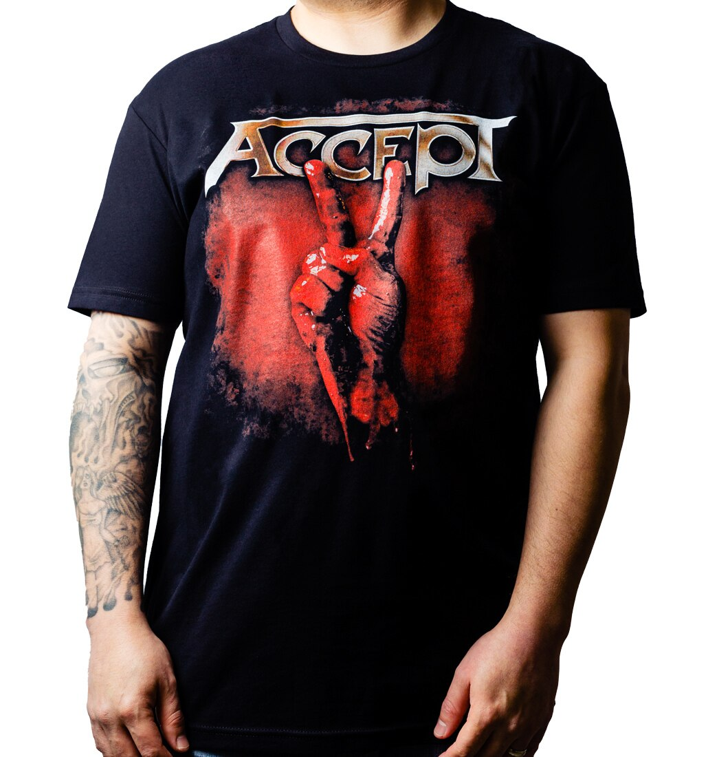 Accept Blood Nations t-shirt tee