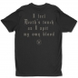 Eleine All Shall Burn back t-shirt