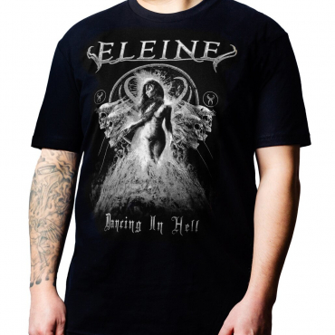 Eleine Dancing in Hell black and white t-shirt