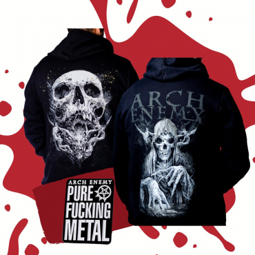 Arch Enemy Hoodie bundle zip pullover