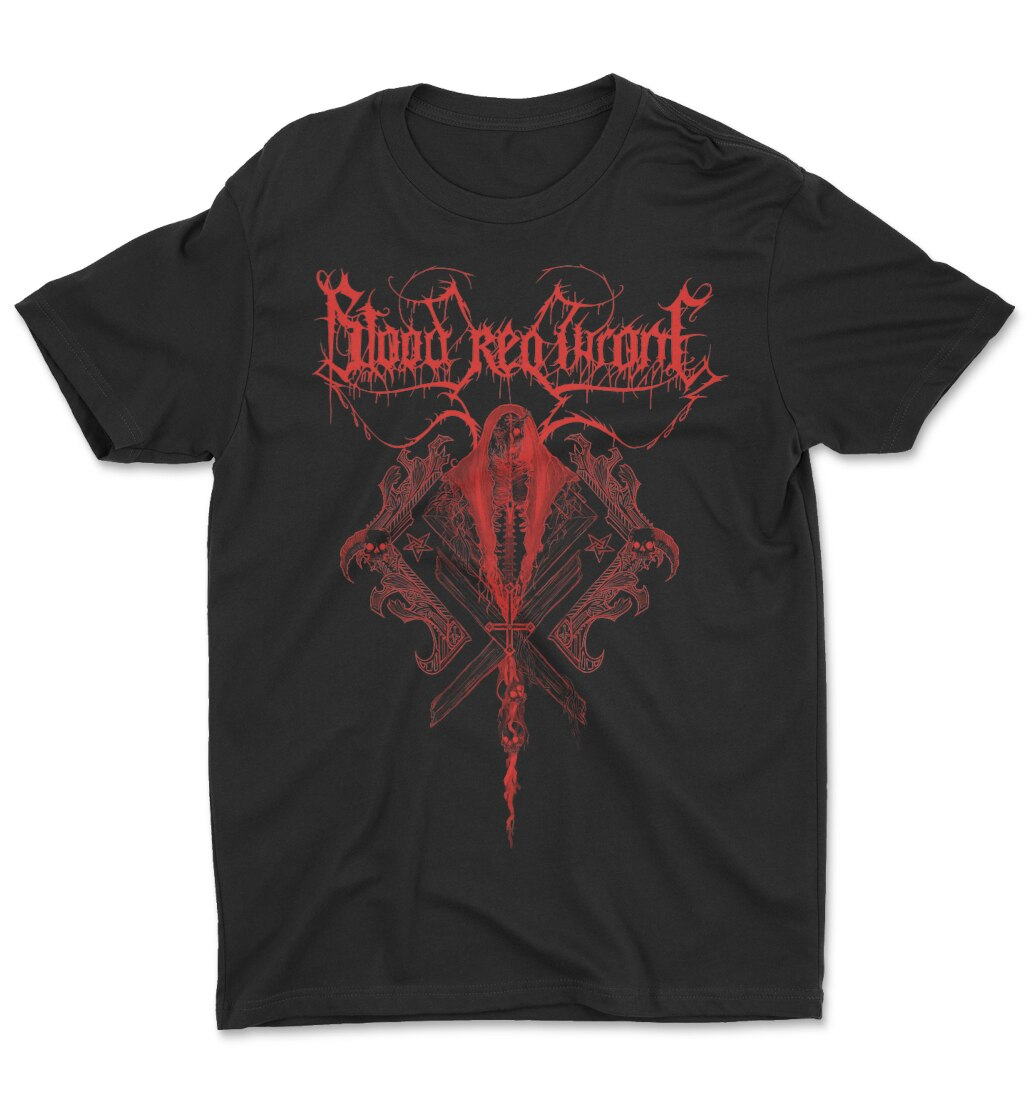 Blood Red Throne Red Death tee t-shirt