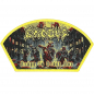 Exodus Blood in Blood Out woven patch yellow border