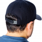 Accept logo embroidered ball cap hat snapback back